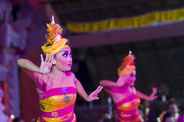 Barong, een dans op Bali