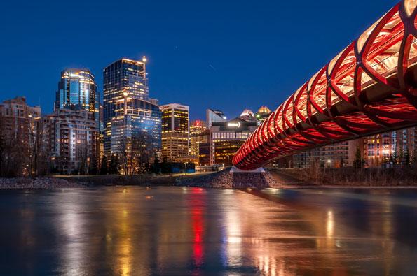 Calgary (foto: Jeff Whyte via Shutterstock.com)