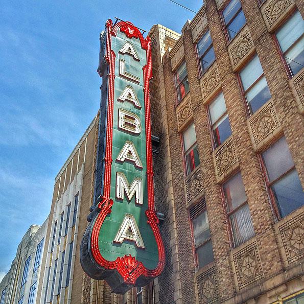 Alabama Theatre in Birmingham, Alabama