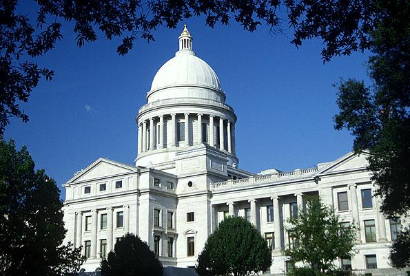 Little Rock in Arkansas