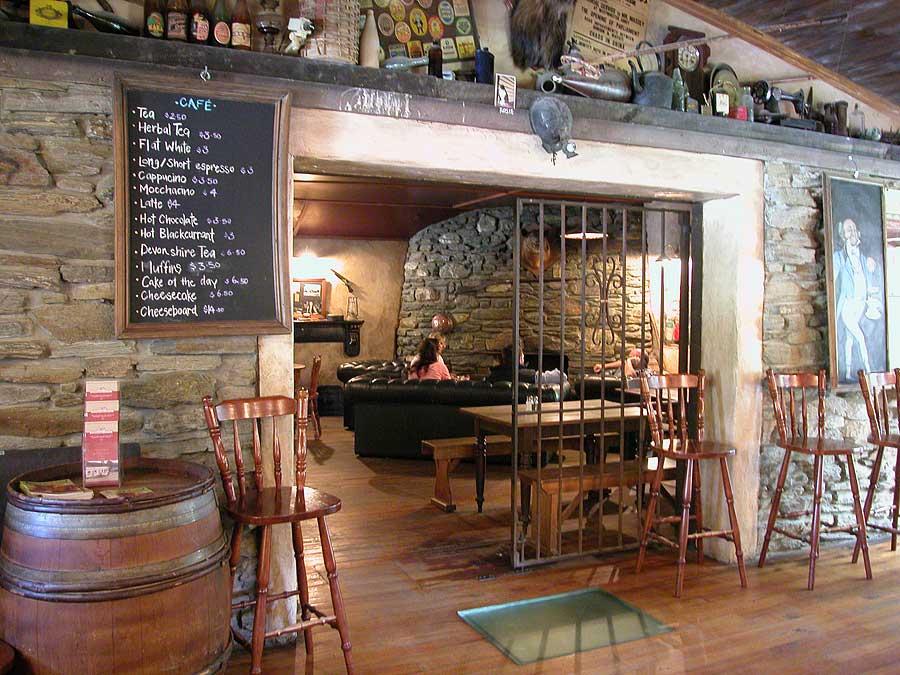 Het restaurant van The Cadrona Hotel
