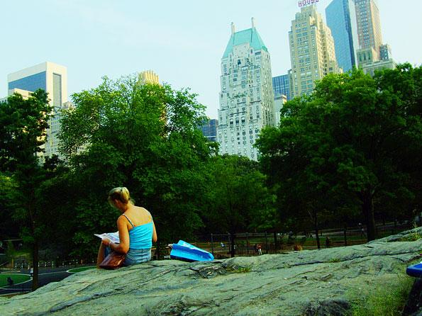 Je kunt heerlijk relaxen in Central Park