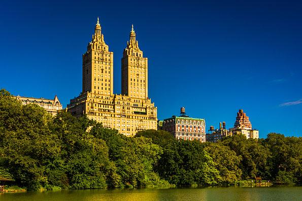 New York gezien vanuit Cantral Park