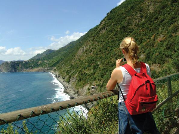Wandelen bij Cinque Terre