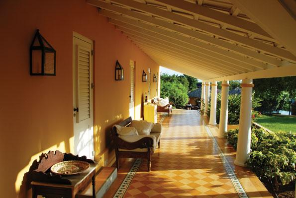 Landhuis Jan Thiel op Curacao