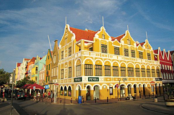 Willemstad op Curacao