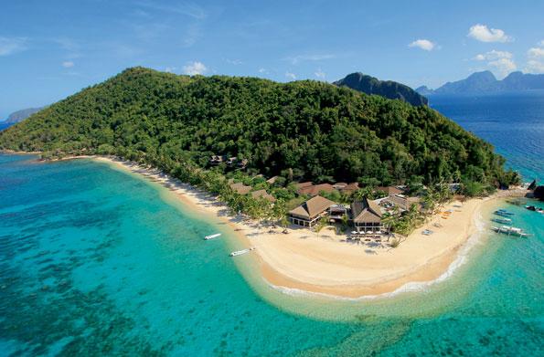 Pangulasian Island op de Filipijnen