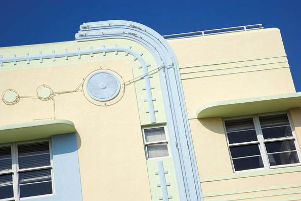 Art Deco in Miami, Florida