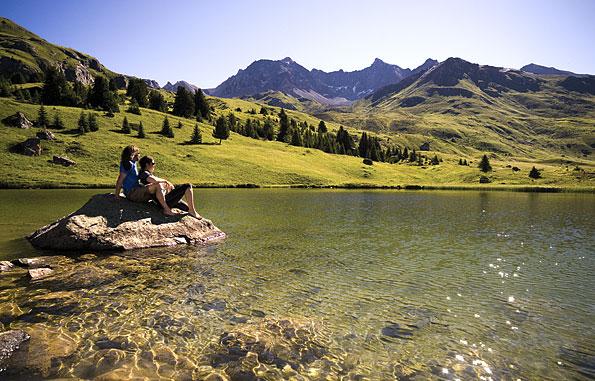Graubuenden in Zwitserland