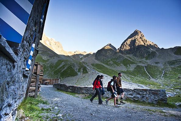Wandelen in Graubuenden, Zwitserland
