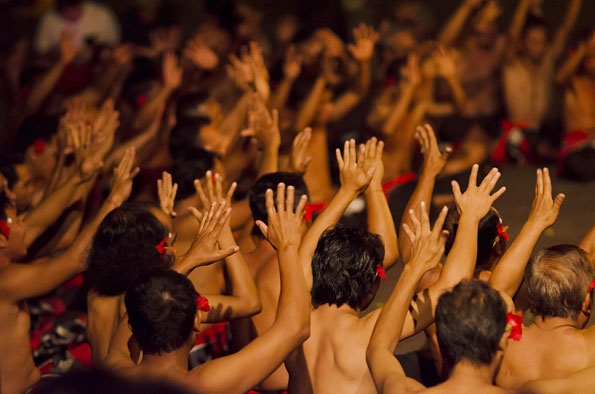 De dansen van Bali