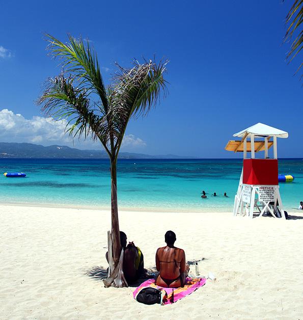 Montego Bay op Jamaica