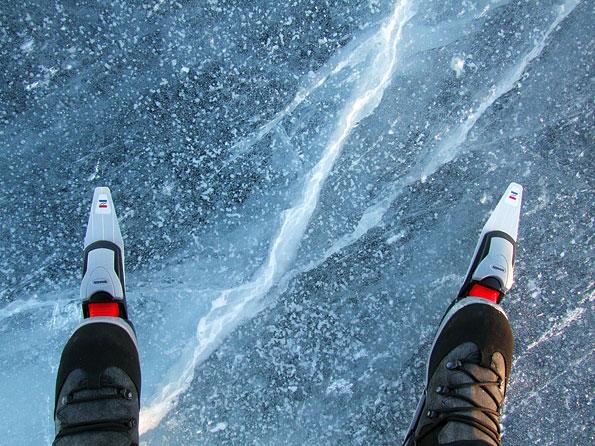 Schaatsen in Jamtland, Zweden