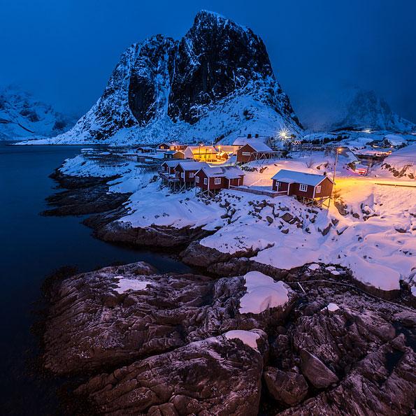 Winter in de Lofoten