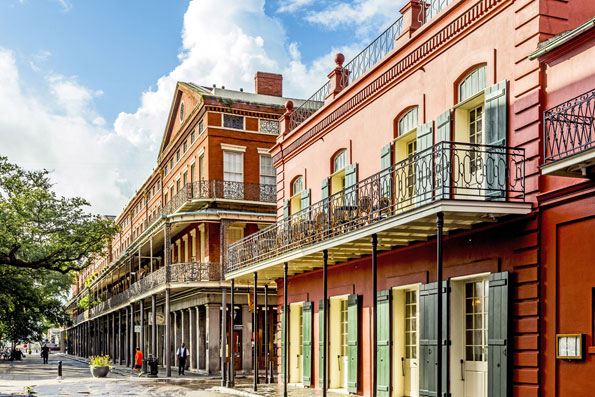 New Orleans in Louisiana