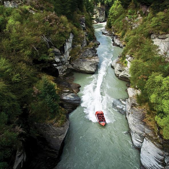Jetboating in Nieuw-Zeeland
