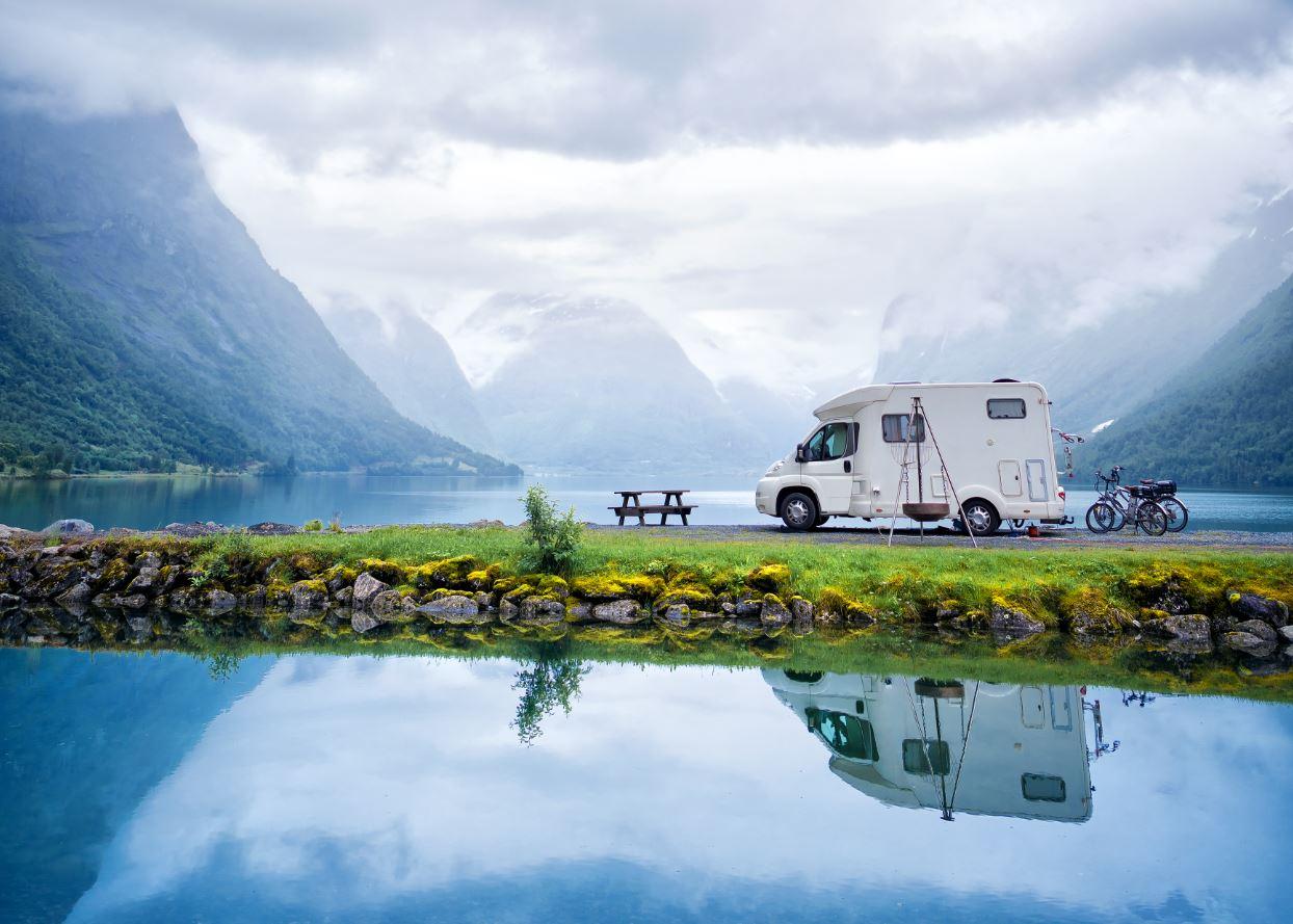 De groene sfeer van Noorwegen