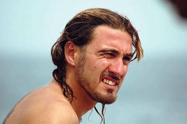 Italiaanse duikinstructeur Daniele in Oman