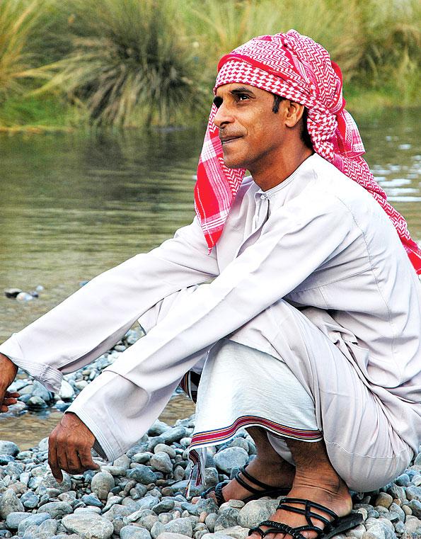 Zahar in de woestijn van Oman