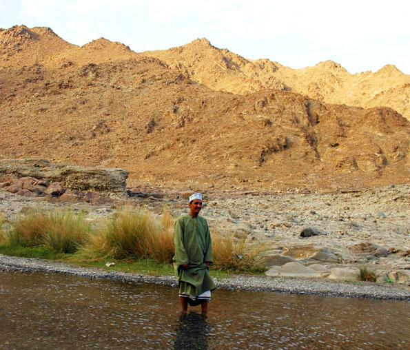 The great outdoors van Oman