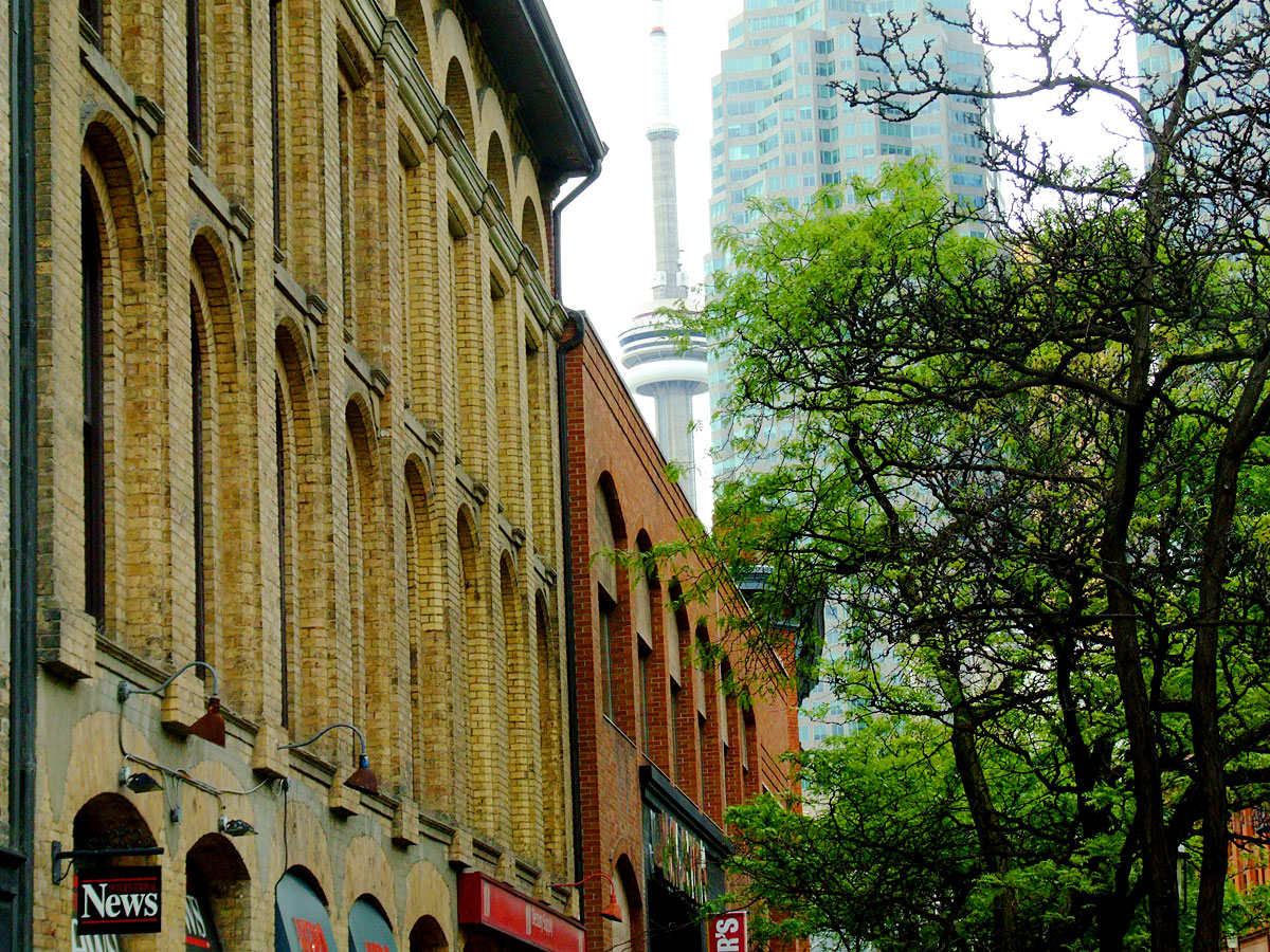 Old Town in Toronto, Ontario, Canada