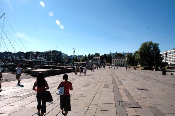 De kade van Oslo