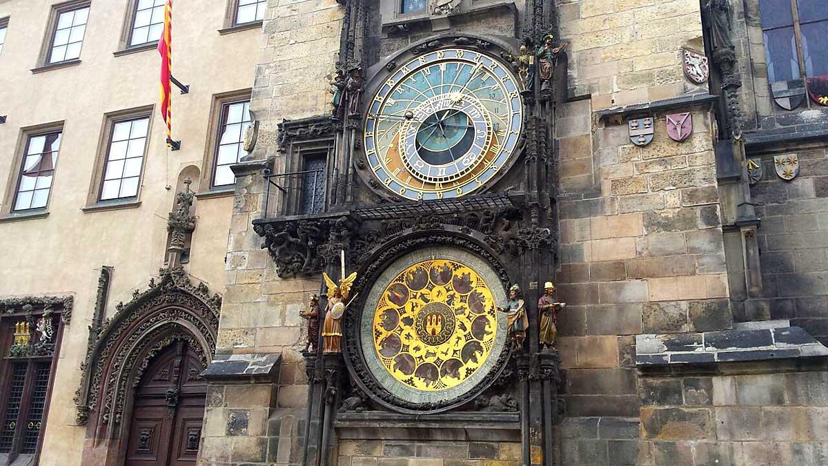 Het astronomisch uurwerk in Praag