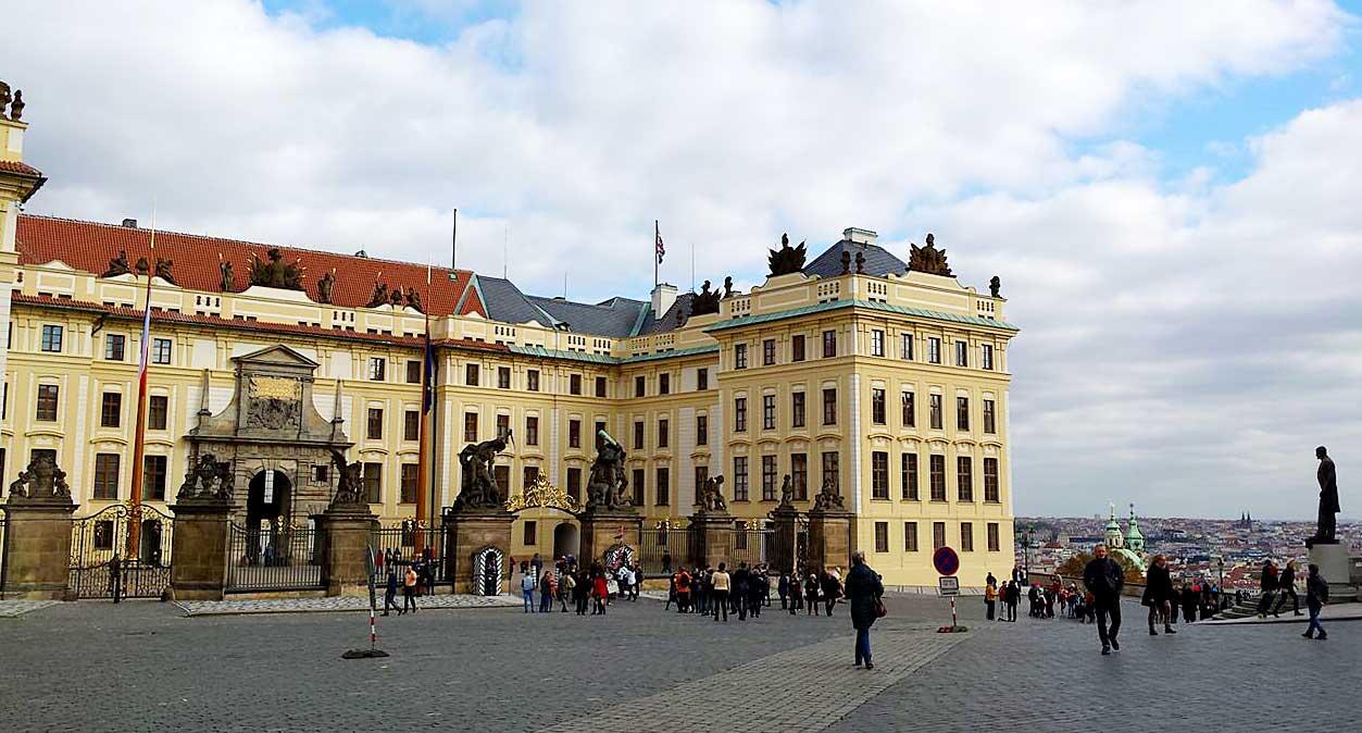 De Praagse Burcht in Praag