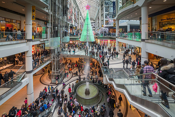 Eaton Center in Toronto