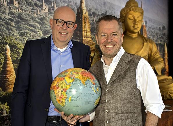 Dutch Locals Twan Robbeson en Bert Thijssen
