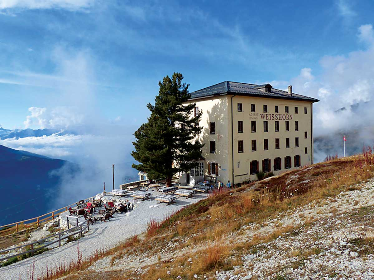 Hotel Weisshorn in Val d'Anniviers