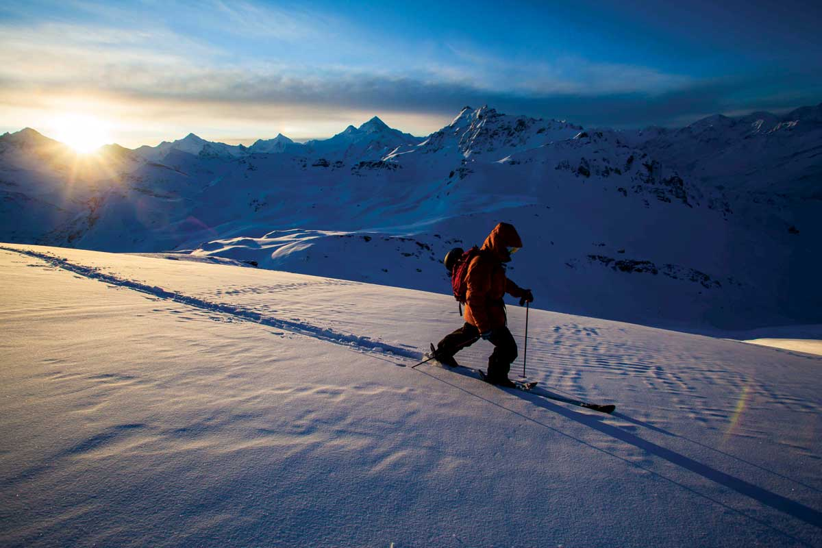 Skitouring rond Val d'Aniviers