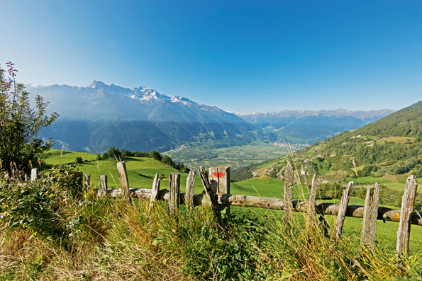 De Vinscher Hohenweg in Val Venosta