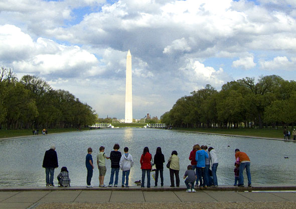 The National Mall in Washington, DC