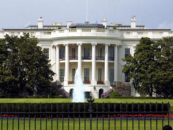 Het Witte Huis in Washington, DC